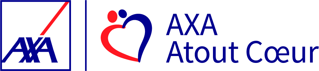 Logo Axa Atout Cœur - Partenariat Ecodair